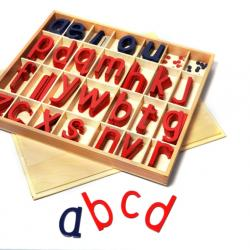 Large Movable Alphabets (Wooden)