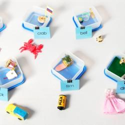 Blue Object Boxes