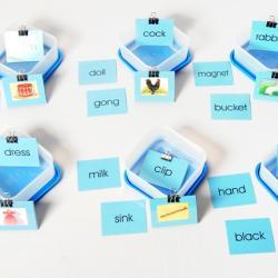 Blue Picture Boxes