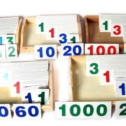 Large Number Cards - Montessori Materials