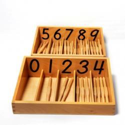 Spindle Box - Montessori Materials